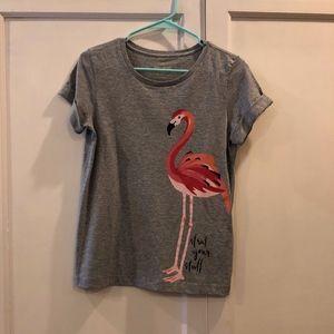 Kate Spade New York Flamingo T-shirt XS